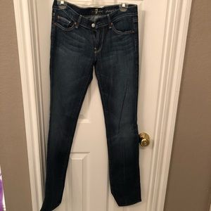 7 For All Mankind straight leg jean